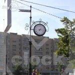 Изготовление больших городских двух сторонних часов